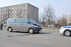 Водитель сбил двоих парней на ул. Гагарина