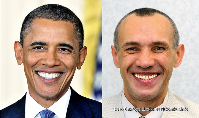 Барак Обама и Игорь Станкевич