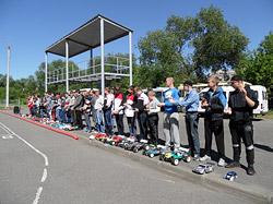 В Бобруйске начались соревнования по автомодельному спорту