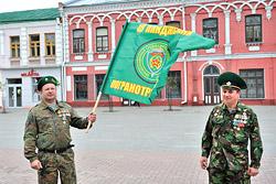 День пограничника в Бобруйске