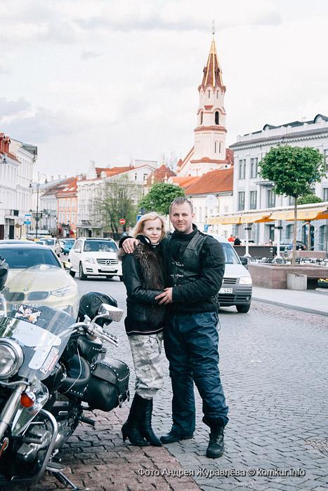 В Германию надвух колесах