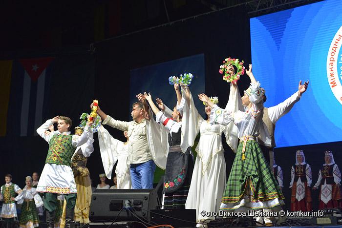 В Бобруйске открылся Международный фестиваль народного творчества «Венок дружбы»