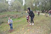 В парке стали чистыми озера