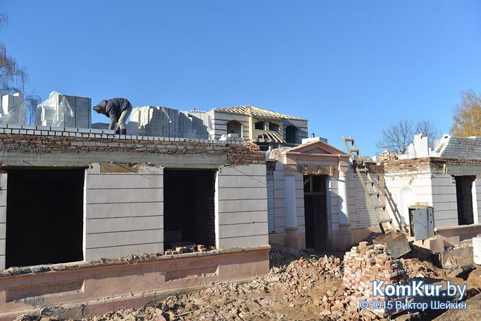 Дом Розенберга достроят