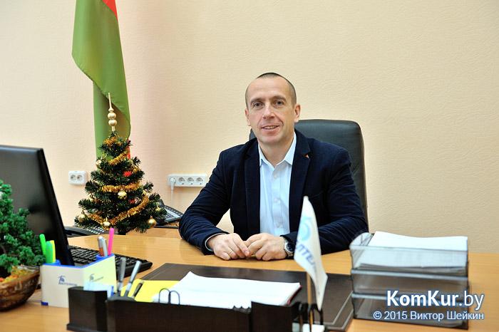 Начальник Бобруйского узла электросвязи А. М. БОБЦОВ
