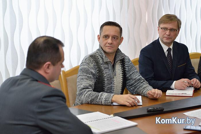 Начальник УВД Бобруйска подвел итоги 2015 года