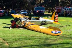 Голливудский актер Харрисон Форд пострадал при крушении самолета