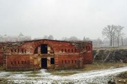 Первый снег выпал в Бобруйске